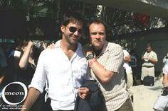 Joe Flanigan and David Hewlett - Stargate Atlantis
