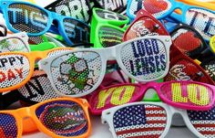 Logo Lenses are a very cool Bar Bat Mitzvah giveaway or favor. Customize with your own logo.