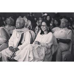 anjumodi: With Pandit Birju Maharaj @ficci Kolkata #createyourjourney