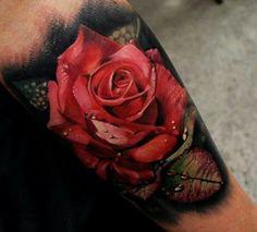 Amazing rose tatt