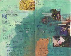 Listening to: Seeds (TV on the Radio) Art Journal Inspiration, Art Inspo, Moleskine Sketchbook, Indie Art, Journal Aesthetic, Gcse Art, Scrapbook Journal, Journaling, Art Sketches