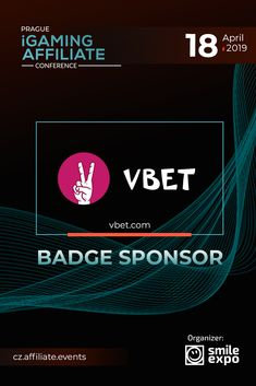 On April Prague iGaming Affiliate Conference will unite leading affiliates and online casinos experts. VBET will become the badge sponsor of the event. Online Gambling, Live Casino, Casino Games, Customer Support, Prague, Affiliate Marketing, Conference, Badge, Platform