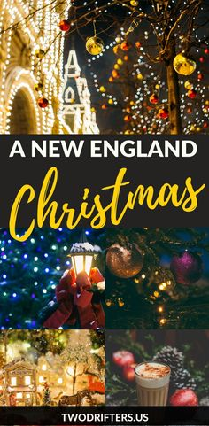 There's nothing as classic and festive as #Christmas in New England. New Englanders share where to celebrate plus the best New England holiday traditions.