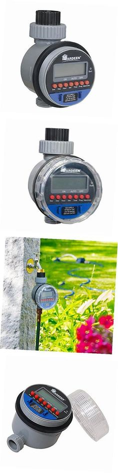 Watering Timers and Controllers 75672: Electronic Water Timer Garden Irrigation Controller Digital Intelligence -> BUY IT NOW ONLY: $33.35 on eBay!