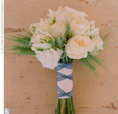 White Rose Bridesmaid Bouquet