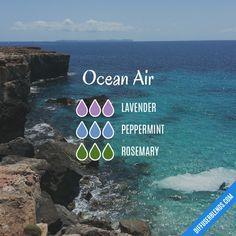 Ocean Air - Essential Oil Diffuser Blend