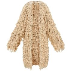 Stone Shaggy Knit Long line Cardigan ($98) ❤ liked on Polyvore featuring tops, cardigans, knit top, beige knit cardigan, beige top, longline tops and stone top