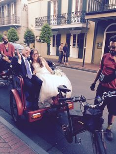 Wedding Departure in the French Quarter