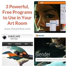 3 Powerful, Free Programs to Use in Your Art Room