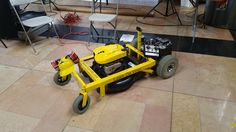 """So, you want to make your own remote controlled lawn mower like in the movie """"Honey, I shrunk the kids""""? You should. This is a fun project that is very practical and makes mowing the lawn a lot more enjoyable. You will learn a few new skills along the way that will help you be a better maker. First, a disclaimer. Robots are dangerous. Lawn mowers are dangerous. Robot lawn mowers are the danger of mowers times the danger of robots. KC Proto is not responsible for any damage to…"""