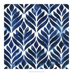 Shop Cobalt Watercolor Tiles IV Panel Wall Art created by worldartgroup. Watercolor Trees, Watercolor Pattern, Watercolor Background, Abstract Watercolor, Watercolor Illustration, Watercolor Paintings, Simple Watercolor, Tattoo Watercolor, Watercolor Animals