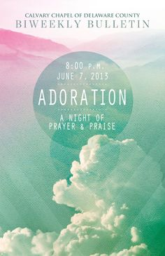 Church Event Graphics by Connie Beecher, via Behance