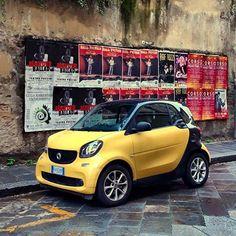 Italian Fortwo  @stefanmarius79  #italian #dream #smartfortwo #smart453 #smart #beautiful #car #traveling #visit #milano #pisa #despresmarturi Smart Forfour, Smart Fortwo, Car Humor, Gravity Falls, Tech, Passion, Cars, Technology