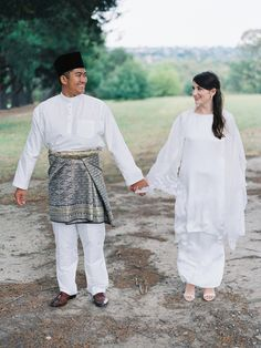 A beautiful interracial destination wedding in Melbourne, Australia // Cross-Cultural Backyard Wedding: Yazid + Michaela