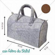 Risultato immagine per creare borse in feltro 5708901402e