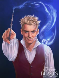 We are very excited to see more of Grindelwald Credence Fantastic Beasts, Fantastic Beasts Book, Fantastic Beasts Fanart, Fantastic Beasts And Where, Fantastic Art, Mundo Harry Potter, Harry Potter Actors, Harry Potter Anime, Harry Potter Love