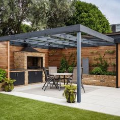 The pergola you choose will probably set the tone for your outdoor living space, so you will want to choose a pergola that matches your personal style as closely as possible. The style and design of your PerGola are based on personal Garden Design, Outdoor Kitchen Design, Patio Design, Pergola Plans, Backyard Landscaping Designs