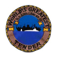 AS-32 USS HOLLAND WORLD'S GREATEST TENDER