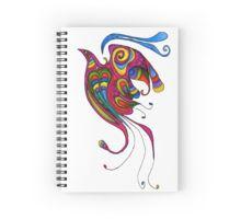 Mexican Colibri Spiral Notebook
