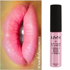 """@nyxcosmetics Soft Matte Lip Cream in Sydney #swatch #swatches #obsessed #makeuphaul #makeupkit #mua #makeupartist #motd #eotd #lotd #makeupporn…"""