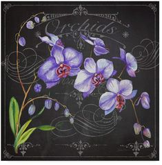 Effortlessly create a luxurious vibe within your home by using orchid flower wall art. In addition to having a gorgeous home using orchid wall art Collages D'images, Art Themes, Floral Wall, Artist Canvas, Picture Wall, Orchids, Orchid Flowers, Art Decor, Room Decor