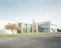 Varigrafica Printing Factory renovation and extention by Massimo Adario. Photo: © Anna Positano