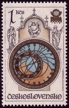 The 38 best clock stamps images on pinterest postage stamps a most intricate and fantastic clock a prague icon fandeluxe Images
