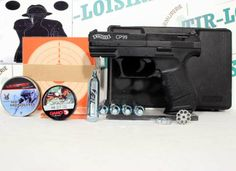 Pack Walther CP 99, pistolet à plombs #categorieB #revolver #packwalthercp99