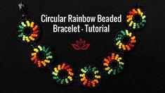 Seed Bead Bracelets Tutorials, Macrame Bracelet Patterns, Beaded Bracelets Tutorial, Beaded Jewelry Patterns, Fabric Jewelry, Beading Tutorials, Beading Patterns, Beaded Earrings, Seed Beads