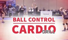Demanding defensive ball control and cardio drill
