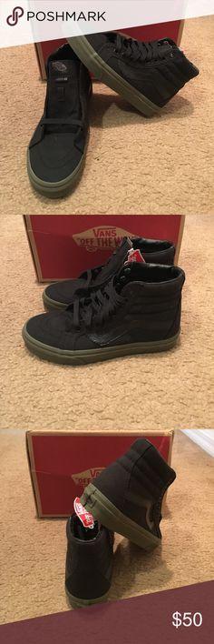 111c13cc23eb22 Vansguard SK8Hi Reissue Vans New in box. Black  Ivy green Vans Shoes  Sneakers Green. Green Vans ShoesMen s ...