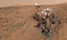 A primeira selfie em Marte foi clicada pelo robô Curiosity - Foto: Divulgação/ NASA