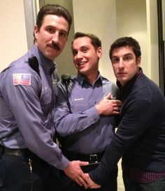 The men of Orange is the New Black - getting along!