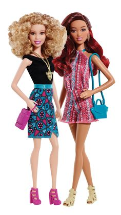 Time to rethink Barbie—with tons of new styles, skin tones and hair colors, Barbie Fashionistas are a whole new kind of doll. [ad]