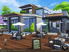 By Pralinesims Found in TSR Category 'Sims 4 Community Lots'