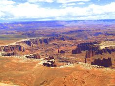 Travelling Utah with a Campervan - Canyonlands National Park; White Rim Road