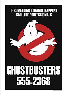 Ghostbusters - Filmes | Posters Minimalistas