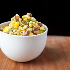 Corn Salad with Cilantro & Caramelized Onions from Food52, found @Edamam!