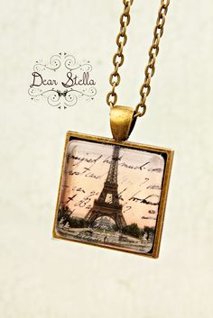This Paris necklace is now sold out but you can find similar ones here: http://dearstellajewellery.storenvy.com/collections/202878-necklaces