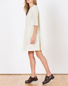 Ace & Jig Beatrice Dress in Afterglow Ace And Jig, Short Sleeve Dresses, Dresses With Sleeves, Tomboy, Clothing, Collection, Women, Fashion, Outfits