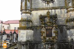 Discover the amazing Convent of Christ in Tomar and be amazed with its beautiful Manueline window.