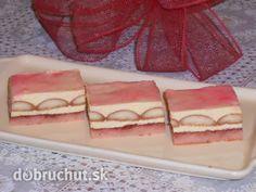 Fotorecept: Ružové rezy bez múky