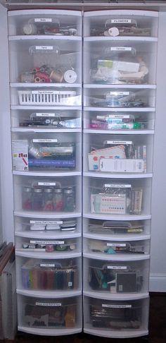 Wal-mart plastic stacking storage