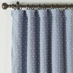 French Knot Drapery Panel | Ballard Designs Drapery Panels, Window Panels, Window Coverings, Drapes Curtains, French Knot Stitch, Condo Furniture, Drapery Hardware, Entrance Gates, White Paneling