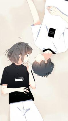Love Never Fails Manga Cute Couple Drawings, Anime Couples Drawings, Anime Couples Manga, Cute Anime Couples, Cute Chibi Couple, Cute Couple Art, Anime Love Couple, Anime Cupples, Anime Chibi