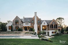 Dream House Exterior, Dream House Plans, House Exterior Design, Dream Houses, Interior Design, Interior Decorating, Modern Farmhouse Exterior, Farmhouse Style Homes, Modern Cottage Style