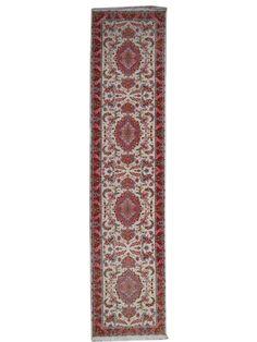 Tapis prestigieux - Tabriz 50 Raj  Dimensions:419x88cm