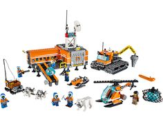 Plan and go on the ultimate expedition from LEGO® City Arctic Base Camp!.....need more room
