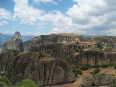 The Metéora Eastern Orthodox Monastery, Plain of Thessaly, Greece
