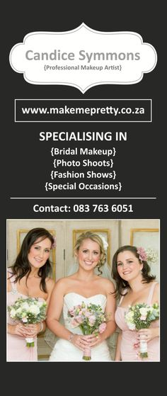 Wedding Banner: Designed by Sheree Conway Professional Makeup Artist, Photo Makeup, Media Design, Bridal Makeup, Special Occasion, Fashion Show, Banner, Photoshoot, Wedding